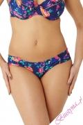 Cleo by Panache Cassie strój kąpielowy figi marszczone floral print