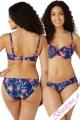 Cleo by Panache Cassie strój kąpielowy figi klasyczne floral print