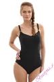 Panache Anya strój kąpielowy jednoczęściowy czarny
