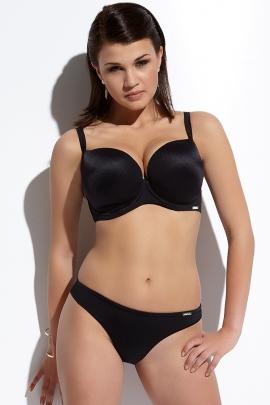 Kris-Line Beach strój kąpielowy biustonosz deco czarny