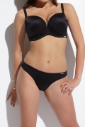 Kris-Line Beach czarny figi klasyczne do stroju kąpielowego