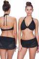 Freya Sundance strój kąpielowy figi ze spódnicą czarne