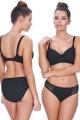 Freya Sundance strój kąpielowy figi hipster czarne