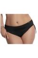 Kris-Line Beach strój kąpielowy figi midi czarne